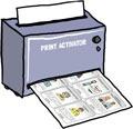 Print-activator