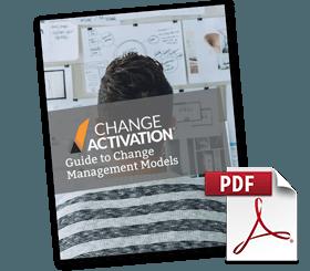 Change management models comparison change activation 25 pages fandeluxe Image collections