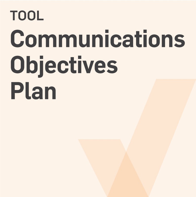 Tool-Communications-Objectives-Plan