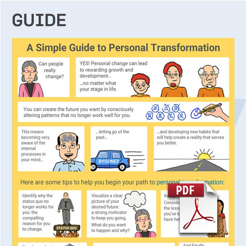 Personal Transformation: Change Management Models & Process