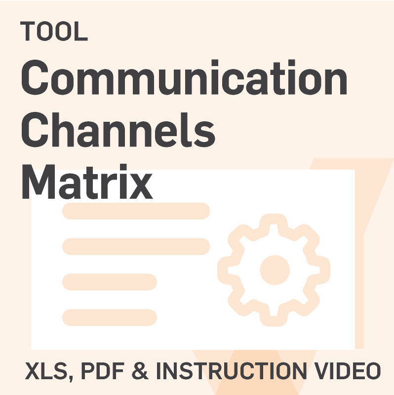 Communication-Channels-Matrix