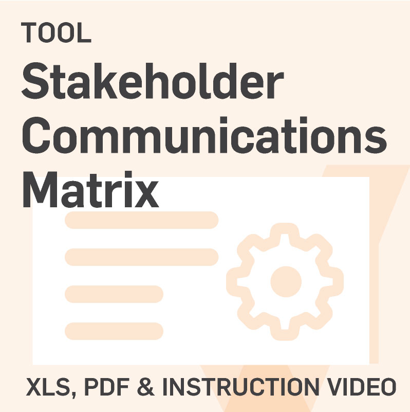 Stakeholder-Communications-Matrix